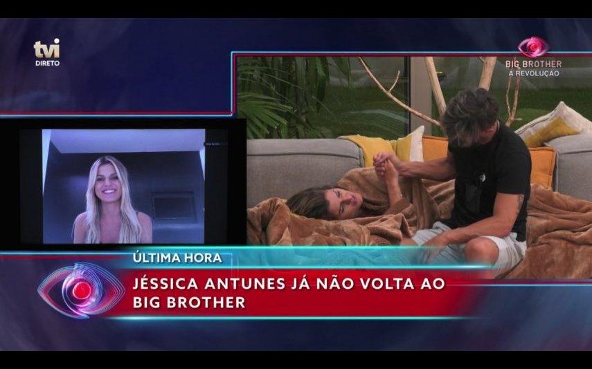 Jéssica Antunes não pode entrar mais na casa do Big Brother