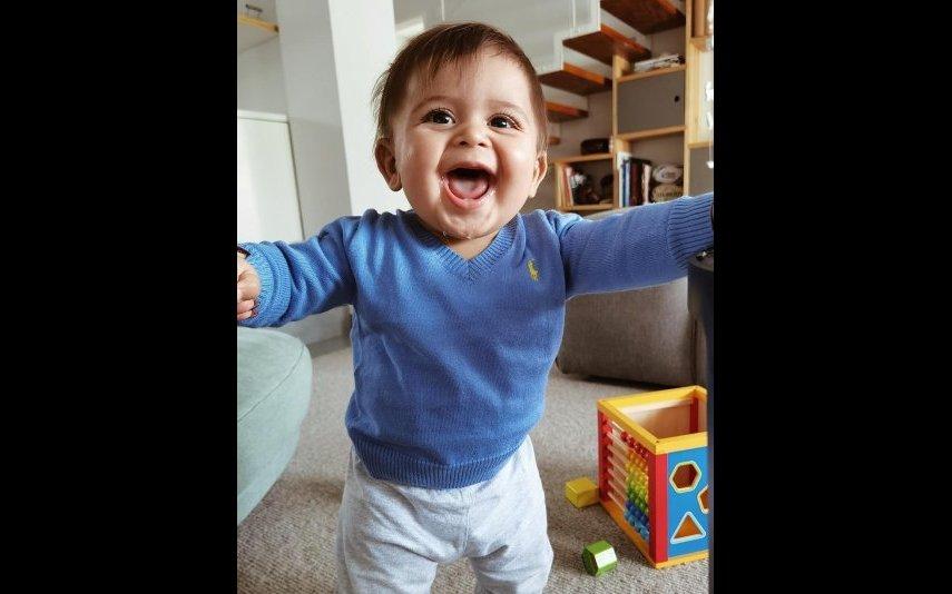 Eduardo nasceu em abril e é o quarto filho de Carolina Patrocínio e de Gonçalo Uva