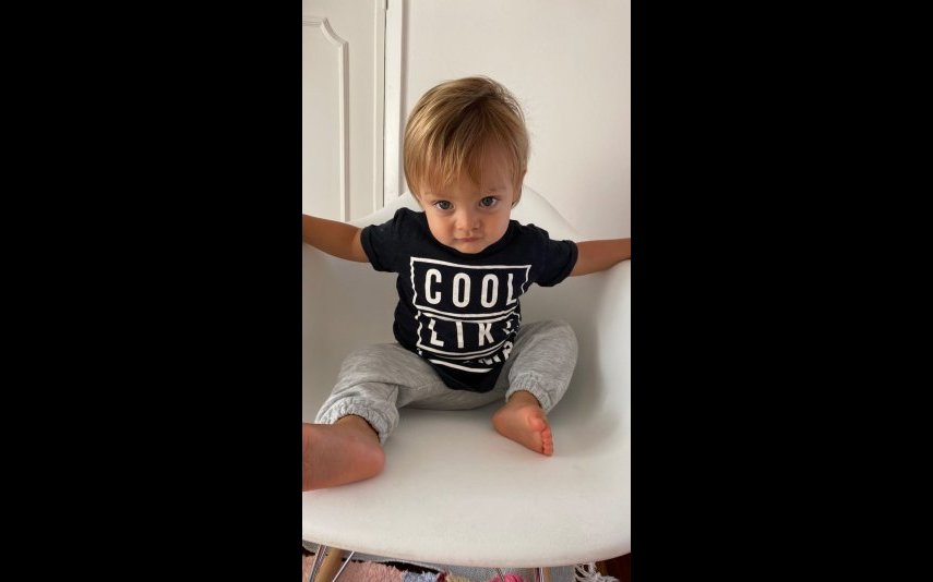 Oliver, de um ano, filho de Jessica Athayde