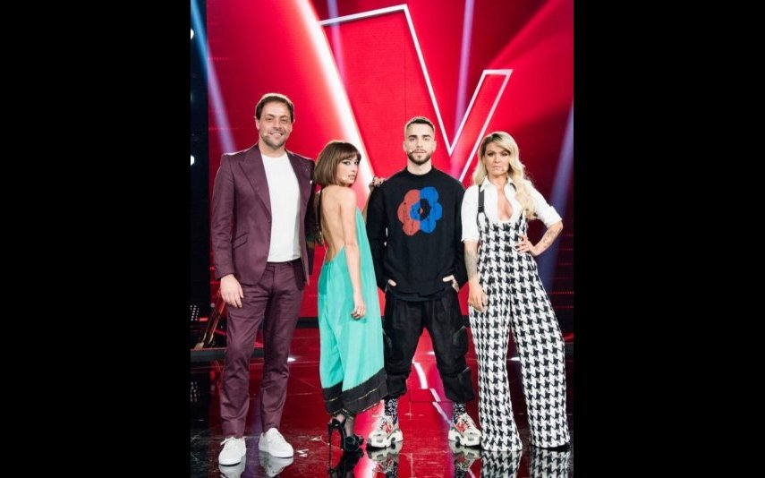 António Zambujo, Marisa Liz, Diogo Piçarra e Aurea, The Voice