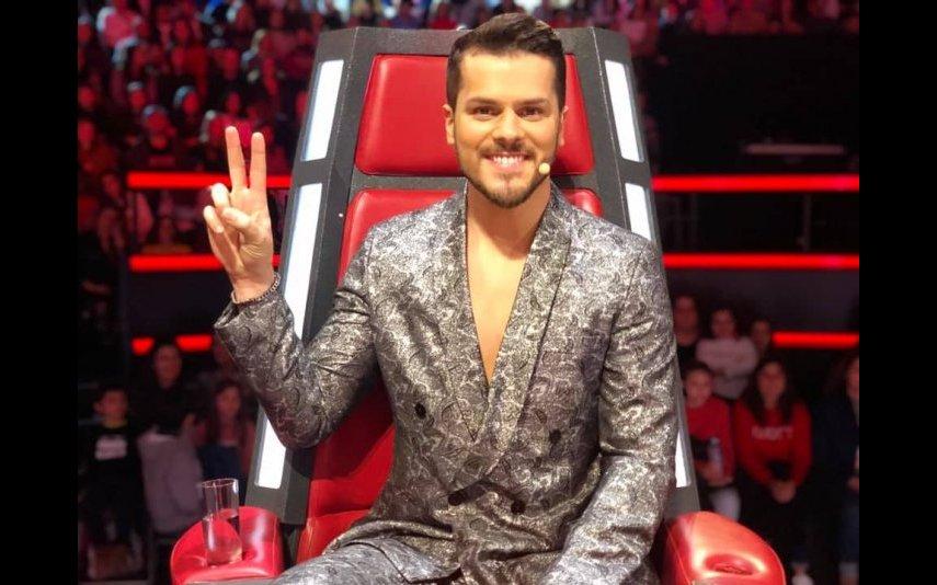 Mickael Carreira foi mentor do The Voice