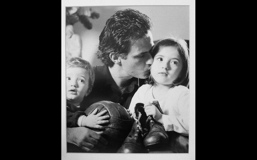 Matilde Mourinho com o irmão e o pai, José Mourinho