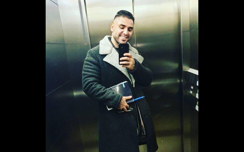 """A foto de Leandro que deu origem a que uma fã chamasse """"gordo"""" ao cantor"""