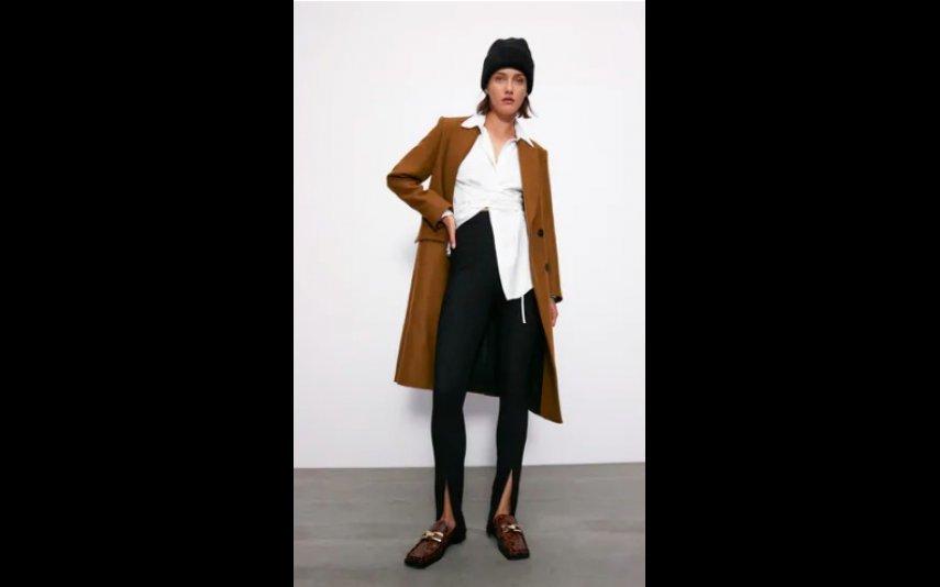 Leggings caneladas Zara -19,95€