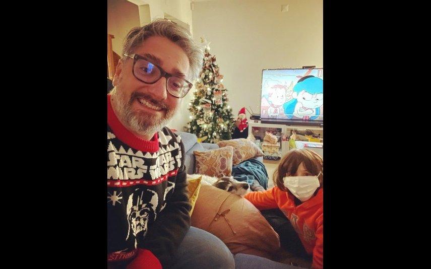 Nuno Markl passou o Natal sozinho com o filho