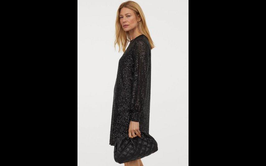 Vestido de lantejolas H&M  -39,99€