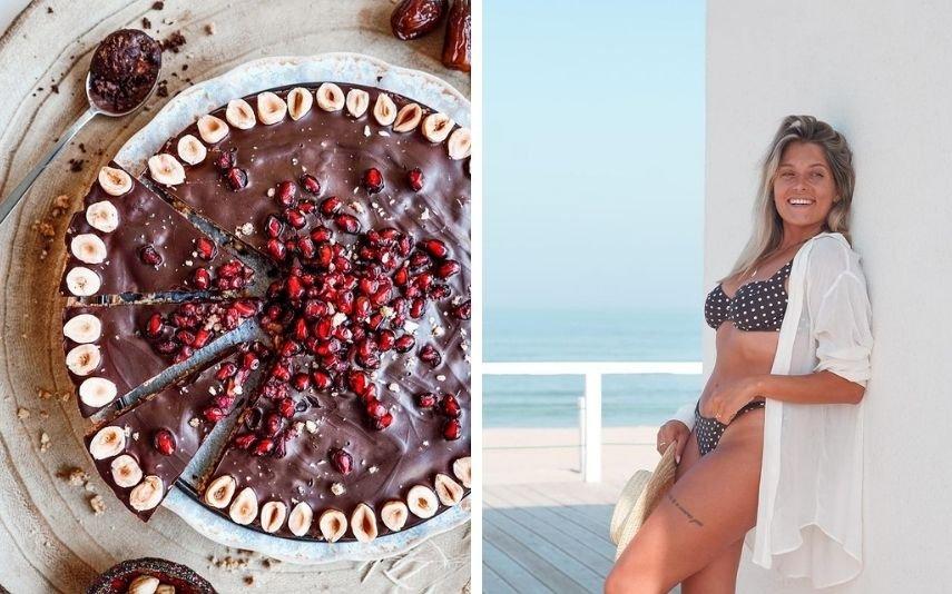 A receita fit de Vanessa Alfaro para adoçar o seu fim de semana