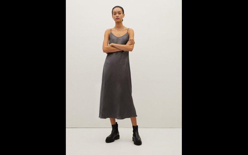 Vestido Fluido De Alças Parfois - 19.99€