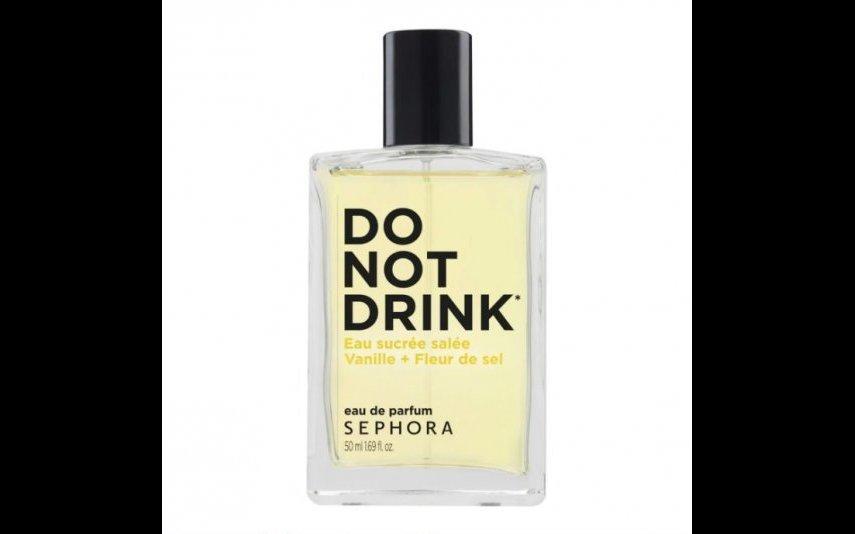 Perfume Sephora Collection - DO NOT DRINK - Baunilha + Flor de Sal -29,99€