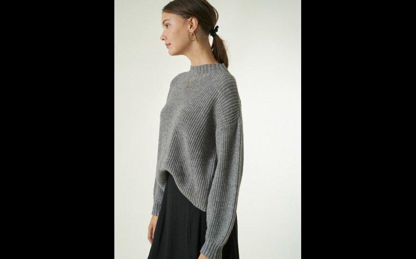 Camisola oversize de cor cinzenta Brownie - 45,90€