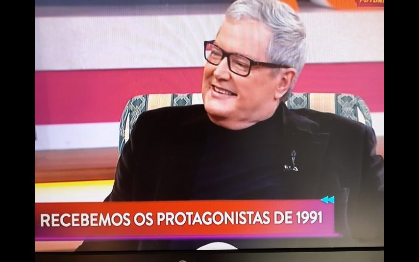 """Marco Paulo foi um dos convidados do programa """"Regresso ao Futuro"""""""