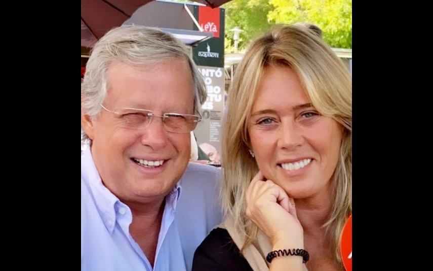 Felipa Garnel e o marido, o médico Nuno Lobo Antunes