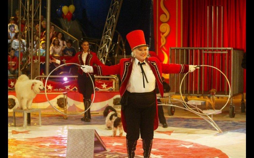 """Natália de Sousa participou no """"Circo das Celebridades"""", na SIC, em 2006"""