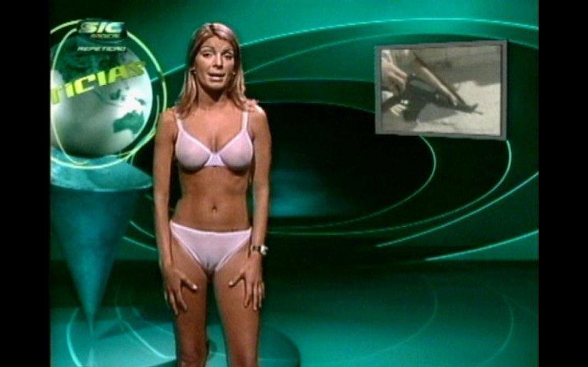 """Paula Coelho apresentou """"Nuticias"""" na SIC Radical em 2002"""