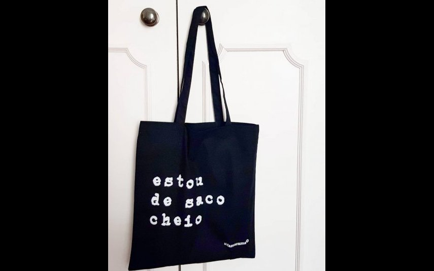 Tote 'ESTOU DE SACO CHEIO' ALFAMARAMA - 10€