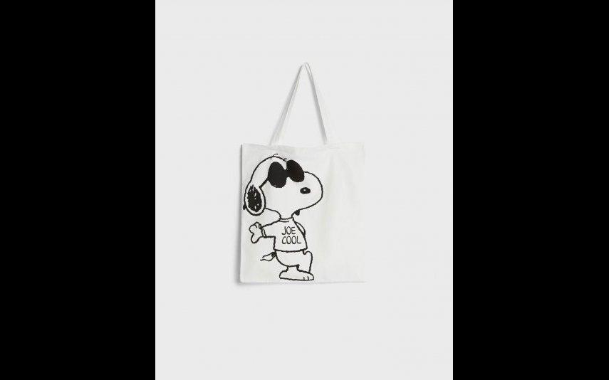 Tote Snoopy Bershka - 7,99€