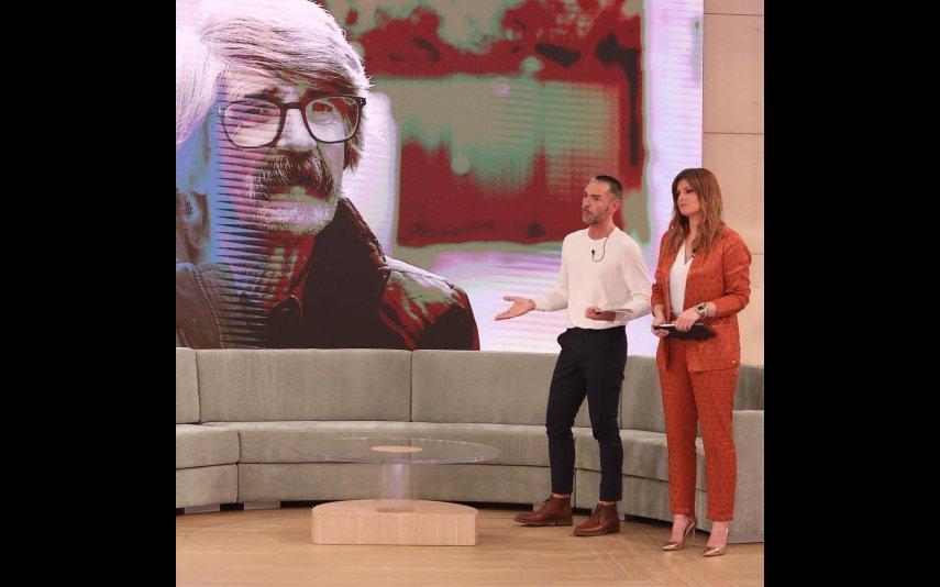"""Cláudio Ramos e Maria Botelho Moniz no programa """"Dois às 10"""""""