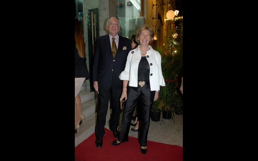 Rosalina Machado e o marido, Francisco Machado