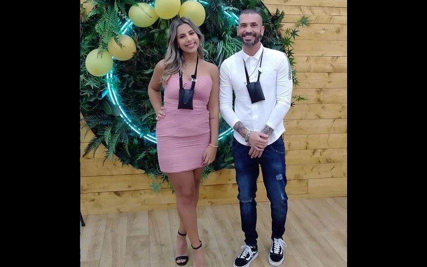 """Bruno Savate e Joana, """"Big Brother"""""""