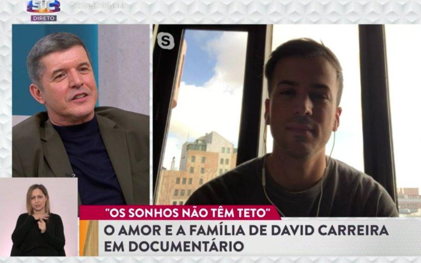 David Carreira, SIC, Casa Feliz, João Baião, Diana Chaves, documentário, Tony Carreira, Carolina Carvalho