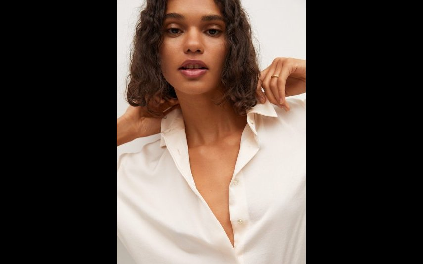 Camisa Branca fluida Mango - 25,99€