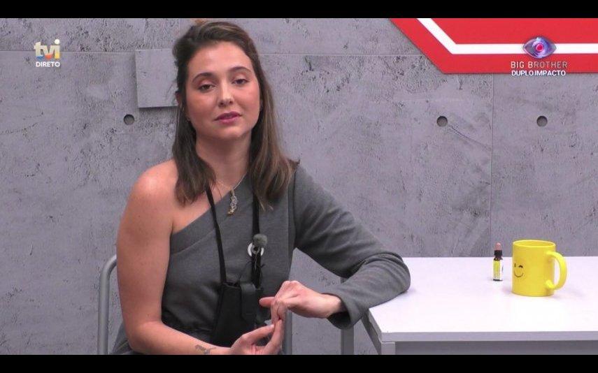"""Ana Catharina já não volta à casa do """"Big Brother"""""""