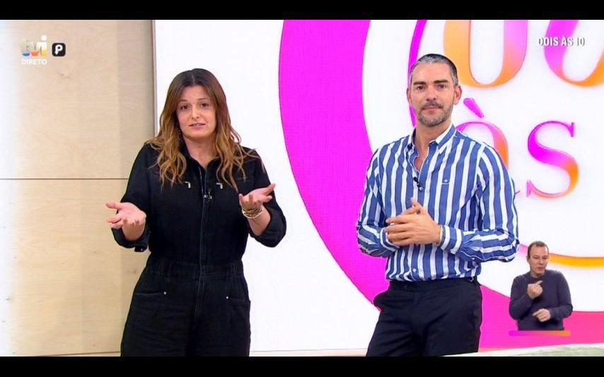 Maria Botelho Moniz e Cláudio Ramos