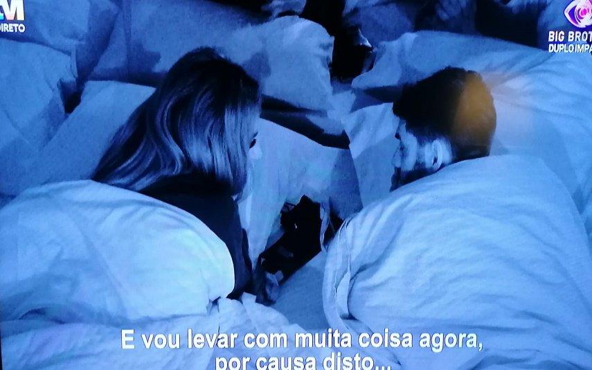 Big Brother, Tvi, Jéssica Nogueira, Gonçalo Quinaz, beijos