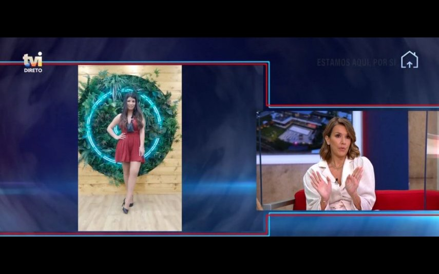 "Os comentadores do ""Extra"" teceram críticas à escolha de Sofia Sousa para o look da gala do ""Big Brother"""
