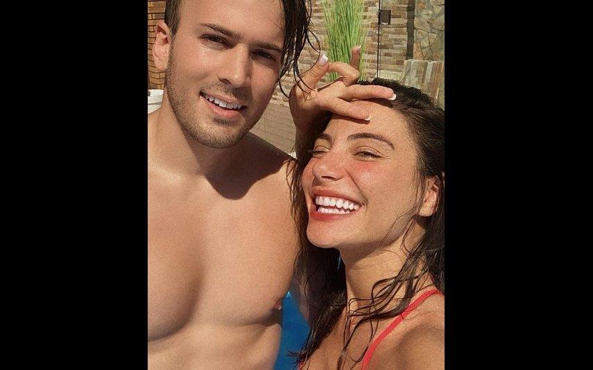 David Carreira e Carolina Carvalho
