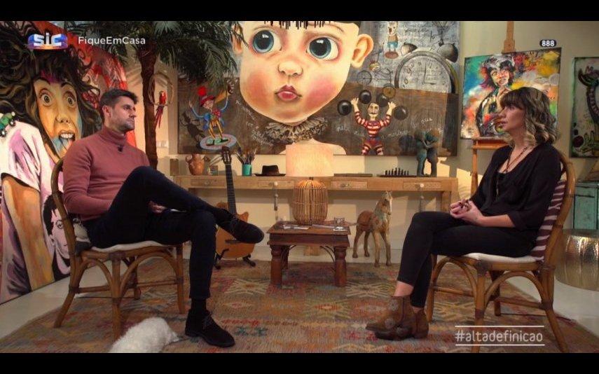 """Xana Abreu, também conhecida por Xana Toc Toc, deu uma entrevista ao programa da SIC """"Alta Definição"""""""