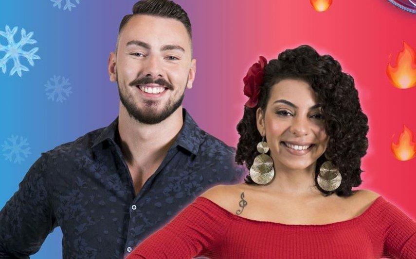 Jéssica Fernandes e Renato Ribeiro