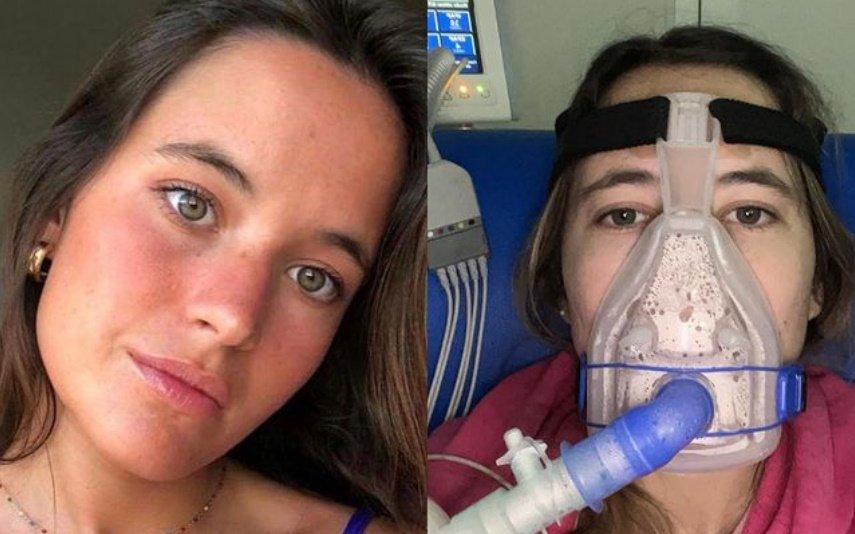 Constança Braddel tem fibrose quistica e fez apelo desesperado