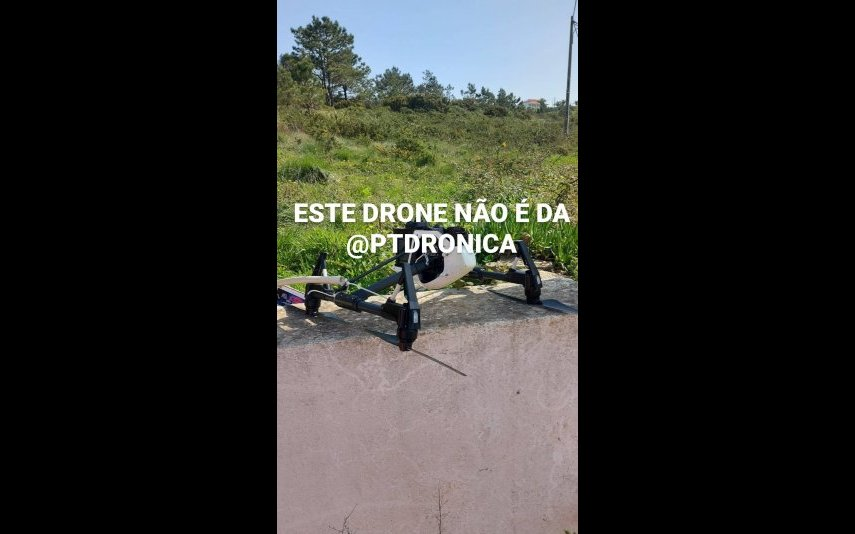 Drone despenha-se junto à casa do Big Brother
