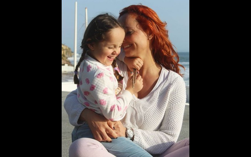 Bárbara Norton de Matos é mãe de Luz, 5 anos