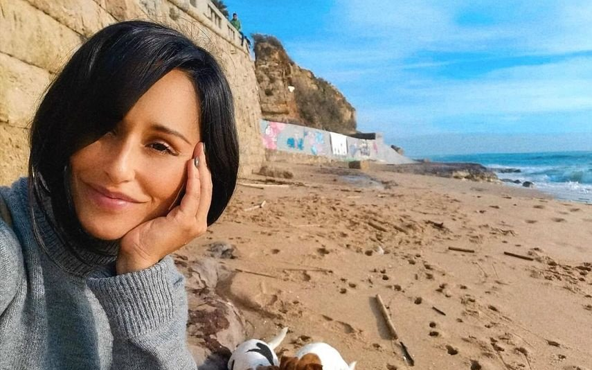 Rita Pereira, TVI, queda, praia