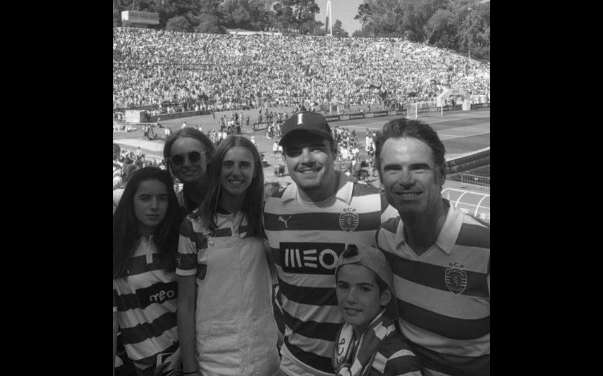Anna Westerlund partilhou várias imagens de Pedro Lima com os filhos para assinalar do Dia do Pai