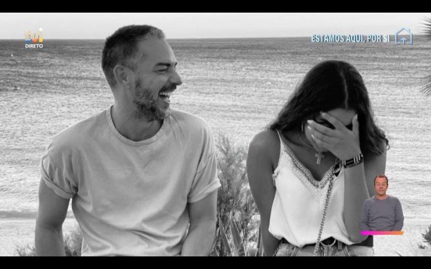 """Cláudio Ramos partilhou, no """"Dois às 10"""", com tem sido ser pai de Leonor"""