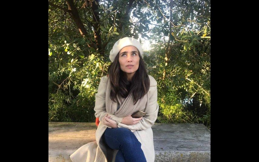Sandra Celas, máscara, manifestação, covid-19