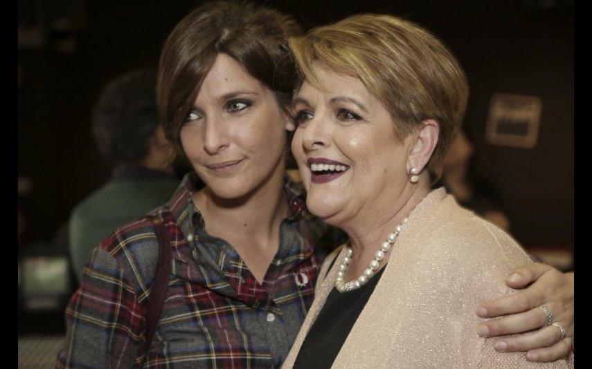Luísa Castel-Branco e a filha, Inês