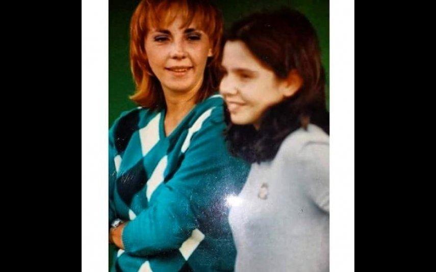 Sara Norte e a mãe, Carla Lupi