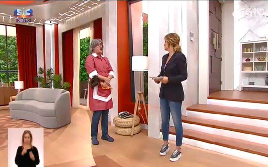 João Baião, SIC, Casa Feliz, Cristina Ferreira