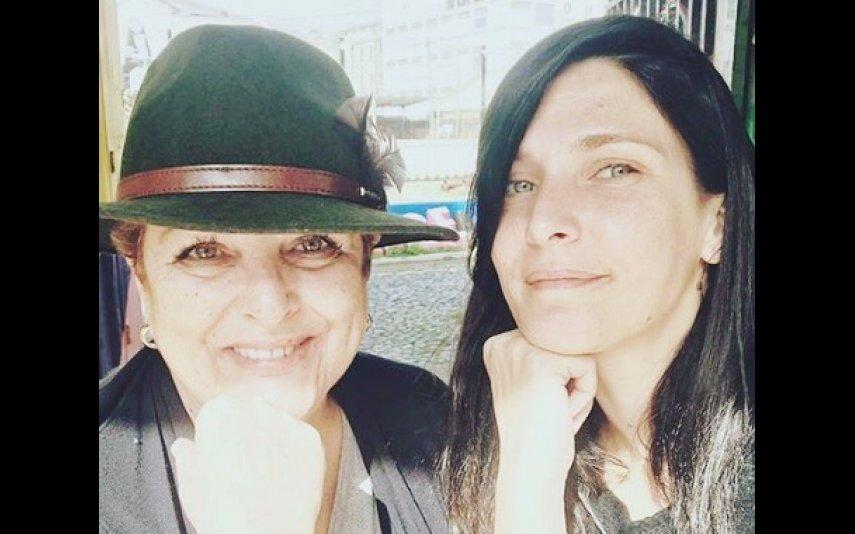Luísa Castel-Branco e a filha Inês Castel-Branco