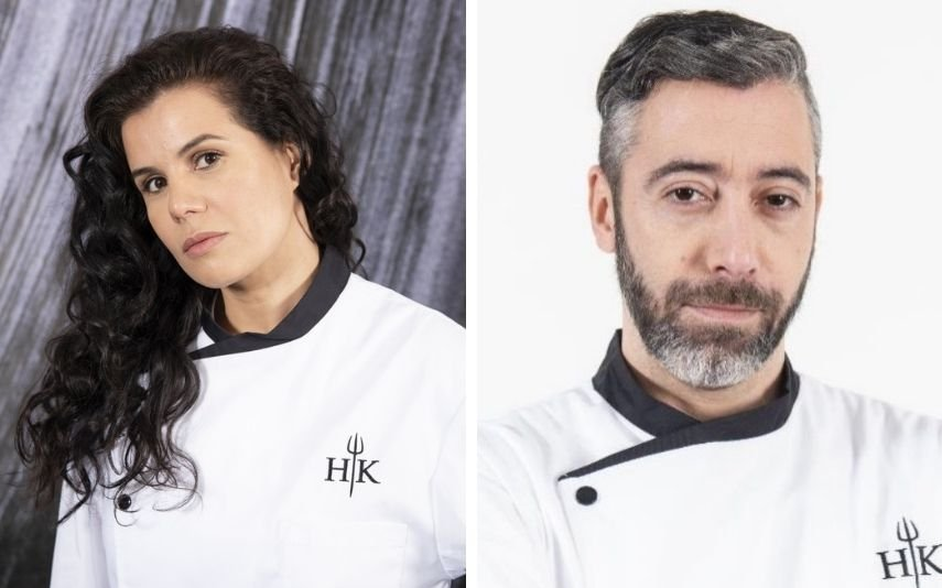 """Cândida e Diogo desentenderam-se nos bastidores de """"Hell's Kitchen"""""""