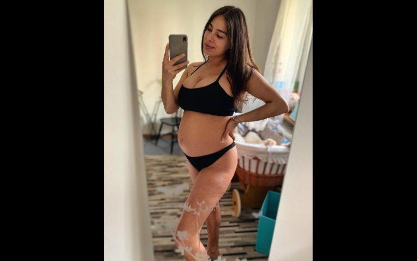 Vanessa Ferreira aguarda a chegada de um menino