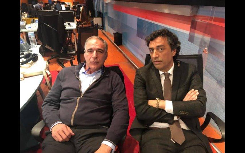 Rodrigo Guedes de Carvalho e SIC Miguel Ribeiro
