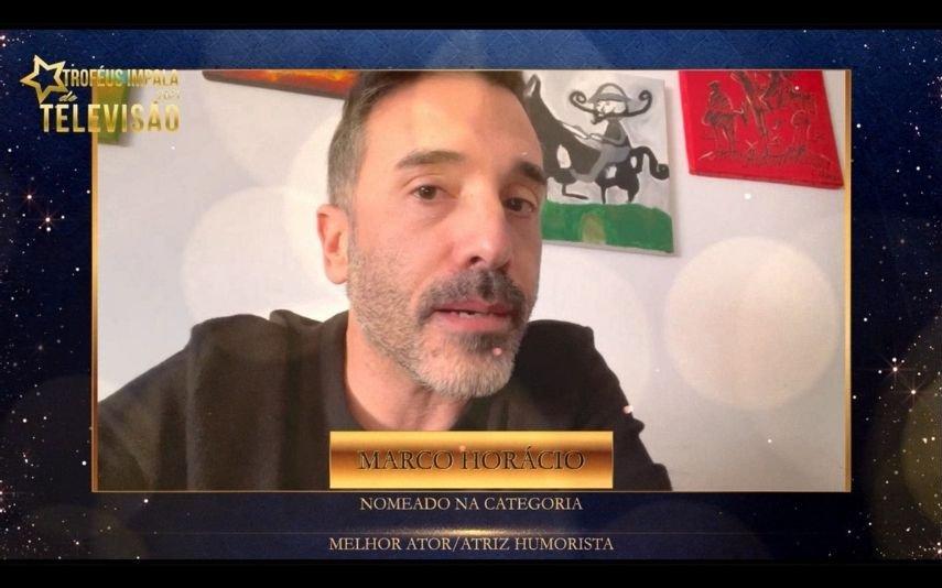 Marco Horácio agradece nomeação para Melhor Ator/Humorista dos Troféus Impala de Televisão 2021