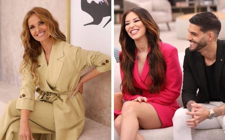 """A entrevista de Cristina Ferreira a Jéssica Nogueira e Gonçalo Quinaz, emitida no programa """"Cristina ComVida"""", está a dar que falar"""