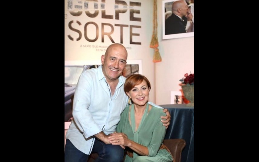 José Raposo partilhou uma fotografia ao lado de Maria João Abreu