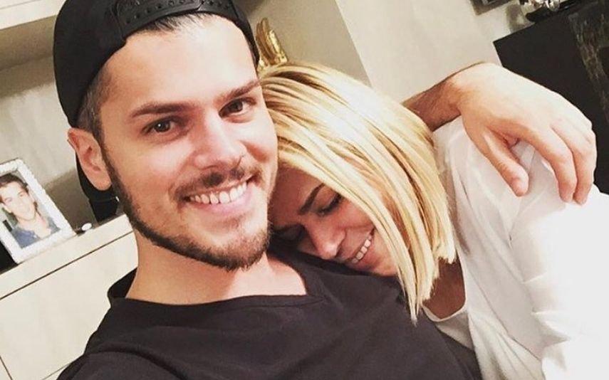 Mickael Carreira e a mãe, Fernanda Antunes